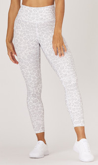 Glyder Apparel Taper Legging In ice Leopard Print
