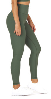 Glyder Apparel Charge Legging In Olive