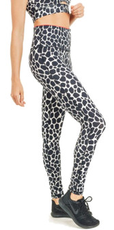 Mono B Dark Giraffe Highwaist Leggings