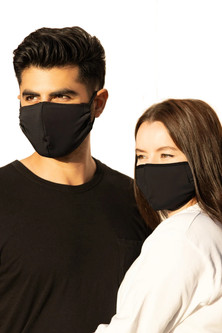 Onzie Mindful Masks Unisex - 2 Pack - Black/Black