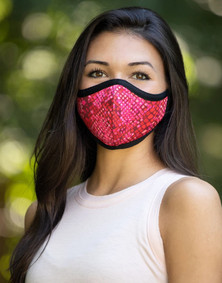 Emily Hsu Designs Darby Ruby Snake Together Mask
