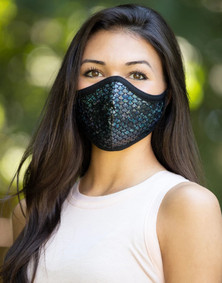 Emily Hsu Designs Midnight Mermaid Together Mask