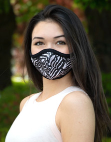 Emily Hsu Designs Zebra Together Mask
