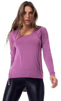 Vestem Energy Long Sleeve Hoodie in Iris