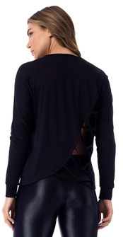 Vestem Knockout Long Sleeve in Black