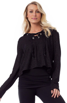 Vestem Finesse Top In Black