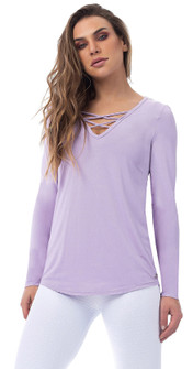 Vestem Vote Top In Lilac