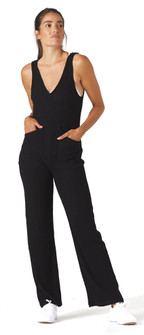 Glyder Apparel Comfort Jumpsuit In Black