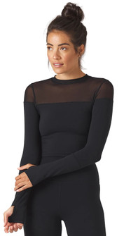 Glyder Apparel Vent Long Sleeve in Black