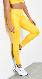 Protokolo Miranda Leggings In Yellow