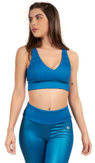Protokolo Fiona Sports Bra In Teal