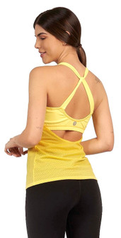 Protokolo Sophia Tank Top In Yellow