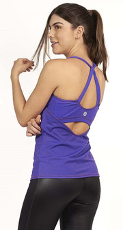 Protokolo Sophia Tank Top In Purple