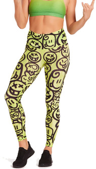 Niyama Sol Happy Lime High Waisted Legging