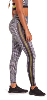 Niyama Sol Racer Plaid High Waisted Legging
