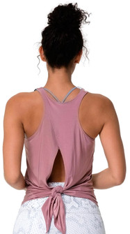 Onzie Rosy Hot Yoga Tie Back Tank