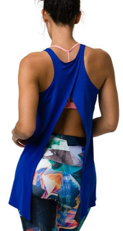 Onzie Royal Hot Yoga Tie Back Tank