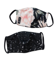 Onzie Mindful Masks 2 Pack - Starry Night/First Bloom