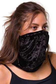 Onzie Mindful Masks Face Cover - Black Velvet