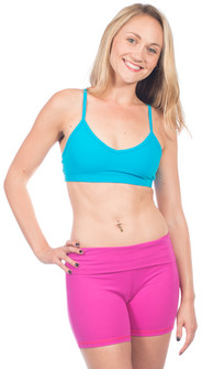 One Step Ahead Supplex V-Neck Bra Top