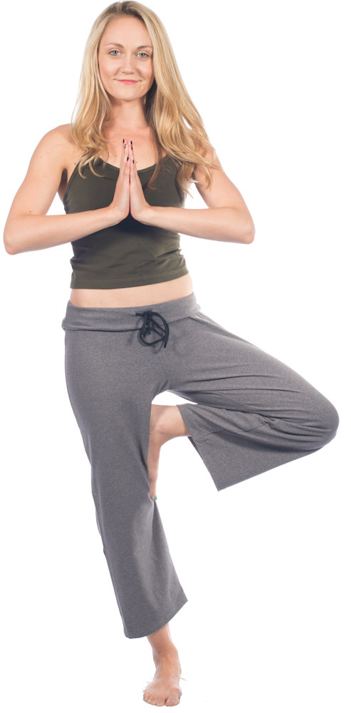 One Step Ahead San Francisco Yoga Wear Loose Capri