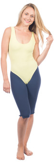 One Step Ahead Cotton Tank Leotard