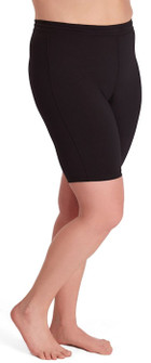 One Step Ahead Closeout Colors Plus Size Supplex Long Bike Shorts