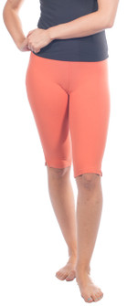One Step Ahead Closeout Colors Supplex Side Slit Capri