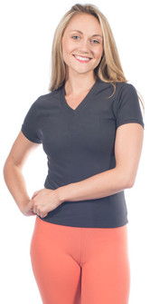 One Step Ahead Closeout Colors Supplex V-Neck