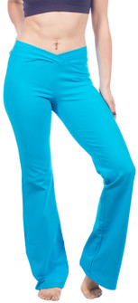 One Step Ahead Closeout Colors Supplex V-Cut Boot Pants