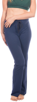One Step Ahead Closeout Colors Cotton Drawstring Boot Pants