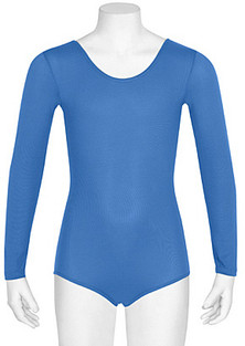 Danskin Girls Nylon Long Sleeve Leotard