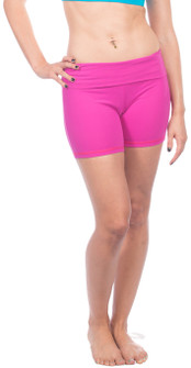 "One Step Ahead Supplex Roll Waist 5"" Shorts"