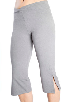 One Step Ahead Supplex V Front Slit Capris