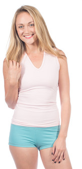 One Step Ahead Supplex V Front Muscle Tank