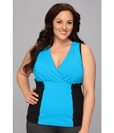 MSP by Miraclesuit Plus Color Block Tank