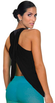 Bia Brazil Open Back Mesh Top