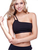Kos Usa Asymmetrical Bra Top
