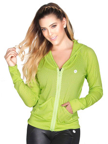 Protokolo Lemon Green Candy Crush Mesh Jacket