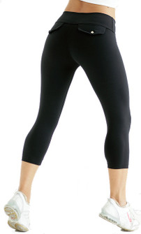 Bia Brazil Tight Rear Pocket Capri