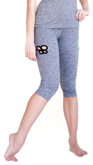 Mia Brazilia Grey Butterfly Capri