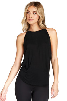 Strut-This Black Elle Tank Top