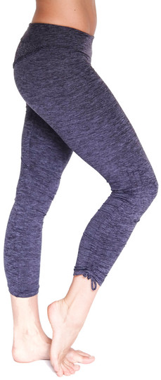 Mia Brazilia Dark Purple Cinch Highlight Legging