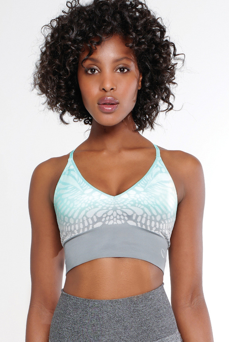 4e237c6f5d669 Climawear Aruba Starry Eyed Print Cropped Bra. Image 2. See 1 more picture