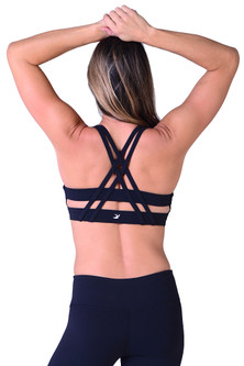 Glyder Black Habit Former Sports Bra