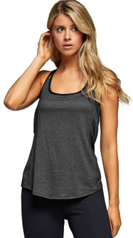 Kos Usa Layered Back Drapes Tank Top
