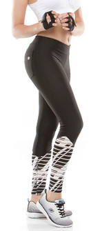 Rola Moca Black Pinnacle Print Legging