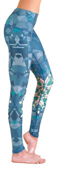 Teeki Lightning In A Bottle Print Hot Pant Legging