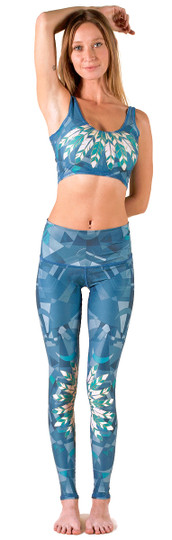 Lightning In A Bottle Print Hot Pant Legging