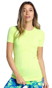 Climawear Electric Lime Stay Focused Tee